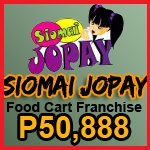 Jopay Siomai Foodcart Package